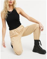 ONLY jogger Co-ord With Pocket Detail - Natural