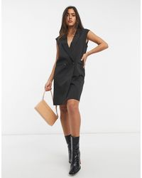 Vero Moda Aware Longline Waistcoat - Black
