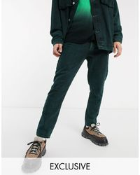 Collusion X003 Tapered Jeans - Green