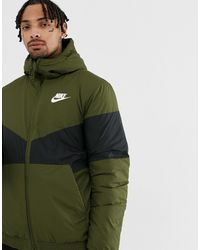 Nike Зеленая Ветровка 928861-355-зеленый