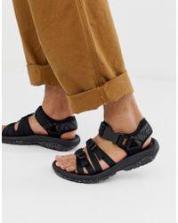 Teva Hurricane Alp Tech Sandals In Black