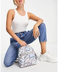 Fiorelli Anouk - sac à dos à imprimé titane - Bleu