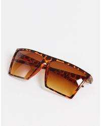 Jack & Jones Солнцезащитные Очки С Черепаховым Дизайном -коричневый Цвет - Черный