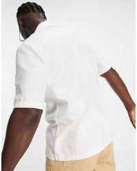 Weekday Chill Short Sleeve Shirt - White