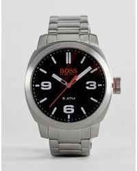 BOSS Orange - By Hugo Boss Cape Town Watch With Black Dial - Lyst