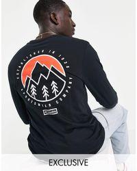 Columbia Camiseta negra - Negro