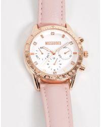 Missguided Розовые/розово-золотистые Часы -розовый