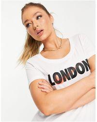 Nike - Белая Футболка London City-белый - Lyst