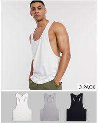 ASOS Multi-pack - Blanco