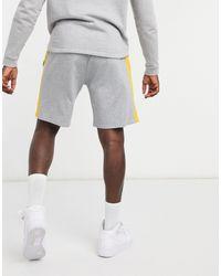 KTZ Серые Трикотажные Шорты С Тесьмой Nba La Lakers-серый