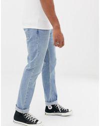 Hollister Jeans slim lavaggio chiaro - Bianco