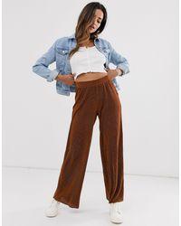 B.Young Pantalon ample - Rouge