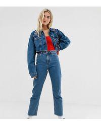 Collusion X005 - Jeans Met Rechte Pijpen En Middenblauwe Wassing