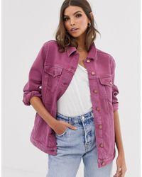 French Connection Antique Dye Denim Jacket