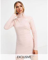 The North Face Glacier Fleece Dress - Pink