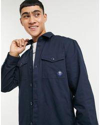 Barbour Twill Overshirt - Blue