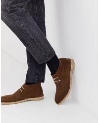 ASOS Desert Chukka Boots - Brown