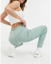 Mango Recycled Polyester Smart jogger - Green