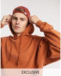 Reclaimed (vintage) Inspired Hoodie - Orange