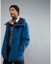 Volcom - L Insluated Gore-tex Ski Coat - Lyst