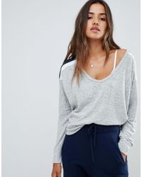 Abercrombie & Fitch - Cozy Voop Top - Lyst