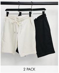 ASOS Confezione da 2 pantaloncini skinny - Multicolore