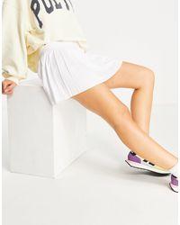 Weekday Serena - jupe plissée - Blanc