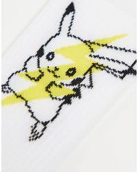 ASOS Набор Из 3 Пар Спортивных Носков С Пикачу И Мьюту - Многоцветный