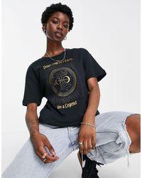 Nike Basketball Slogan Boyfriend Fit T-shirt - Black