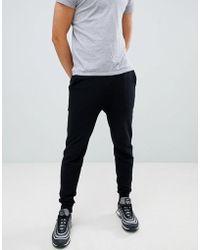 ASOS DESIGN - Skinny Joggers In Black - Lyst