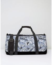Mi-Pac - Duffel Bag With Tropical Leaf Print - Lyst