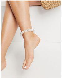 ASOS Anklet - Metallic