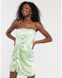 C/meo Collective Vestido corto palabra - Verde