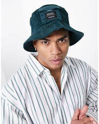 Wesc Corduroy Bucket Hat - Green