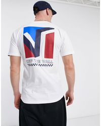 Vans - Dimensions Back Print T-shirt - Lyst