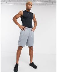 Under Armour - Training Tech Graphic Logo Shorts - Lyst