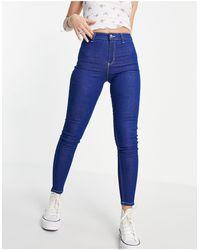 TOPSHOP Joni Jeans - Blue