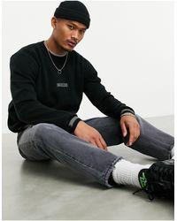 Nicce London Slouch Knit - Black
