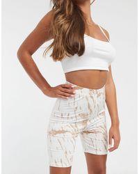Missguided Co-ord legging Shorts - Multicolour