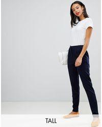 Y.A.S - Pantaloni sartoriali con vita elasticizzata - Lyst