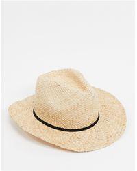 Bershka Коричневая Соломенная Шляпа -коричневый - Естественный