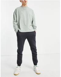 Abercrombie & Fitch Mini Puff Logo Cuffed joggers - Grey