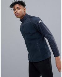 Helly Hansen - Storm Fleece Mid Layer Jacket In Navy - Lyst