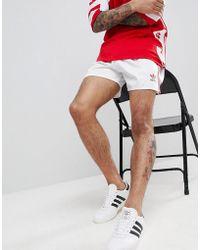adidas Originals - Retro Russia Football Shorts In White Ce2335 - Lyst