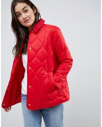 ASOS - Quilted Jacket - Lyst