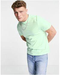 ASOS Camiseta con cuello redondo - Azul