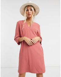 Vila Shift Dress - Pink