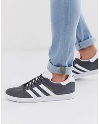 adidas Originals Gazelle - Baskets - foncé - Gris