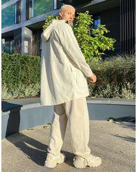 Pull&Bear Raincoat - White