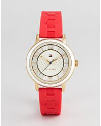 Tommy Hilfiger - Nina Watch In Red - Lyst